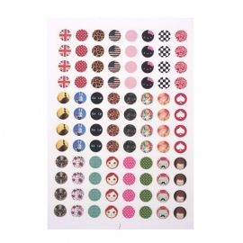 Sillis Scrapbook Stationery   Collage Sheet 10mm L025 04