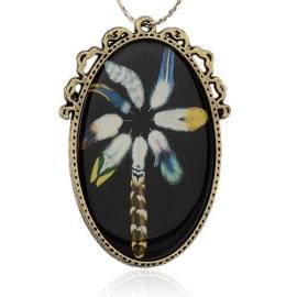 Miss Doris | handmade necklace | FEATHERS