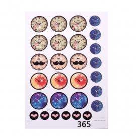 Sillis Scrapbook Stationery   Collage Sheet 10mm L024 03