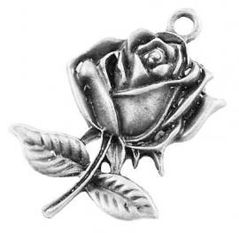 J07/2 DIY hanger - Rose silver 5 stuks