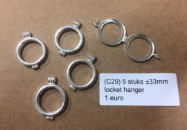 C29 5 locket settings 33mm