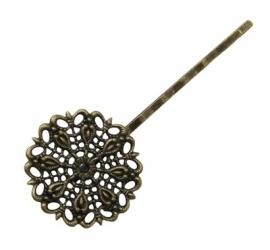 L40 Filigree hairpin | Bronze | 10pc