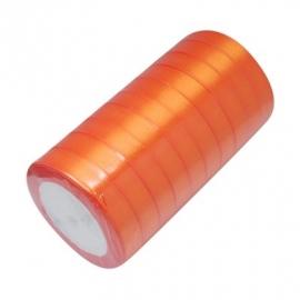 Satin ribbon 12mm 22meter ORANGE 1 rol