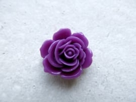 A24 Lola | resin flatback cabochon | 23mm | PURPLE 10 stuks