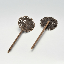 Filigree hairpin | Red Copper | 10pc