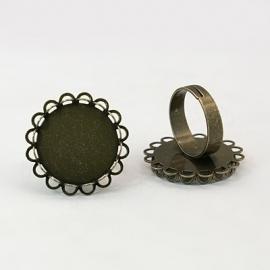 D52/1 Ring starter Jolie | round 20mm 2 stuks