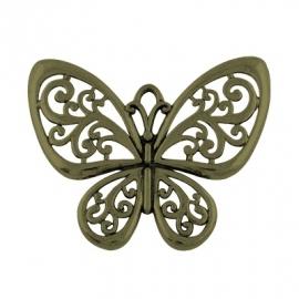 L55 Butterfly | bronze 50x57mm