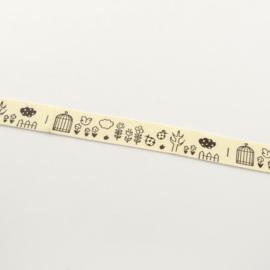 Ribbon | Lint 15mm (dubbelzijdige tape) | B05