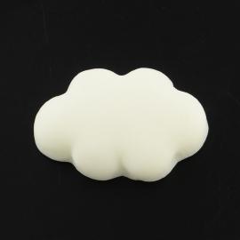 C53/2 Fluffy Kawai cloud | Wolk cabochon 10 stuks