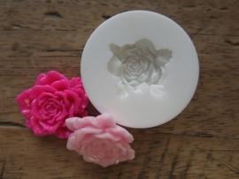 Sillicreations mal - small carved rose