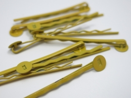 C31 Hairpin setting | Bobbi | Yellow 25 stuks