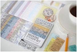 Sillis Stationery - Masking sticker set (paper) blikje