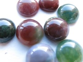 INDIAN AGATE | Gemstone Nature Cabochon 10mm A15/3