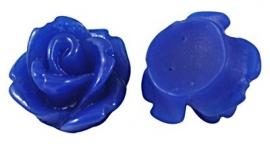 D53/3 Mini resin cabochon | Adanya 7.5mm | BLUE | 20 pcs