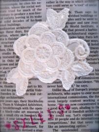 Sillis mal - Lace applique flower