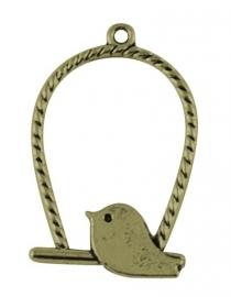 L41 Bird hanger - Bronze 15 stuks