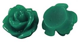 D53/2 Mini resin cabochon | Adanya 7.5mm | DARKGREEN | 20 pcs