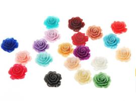 18mm Rose Roos | 100 stuks MIX