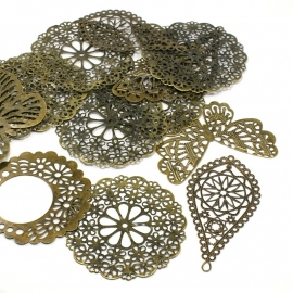 L214 Wholesale | 100 gram MIX | FILIGREE