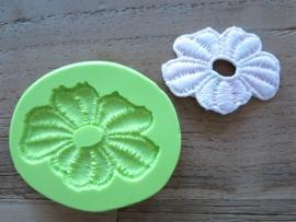 Lace Flower | Sillis Mould 55mm