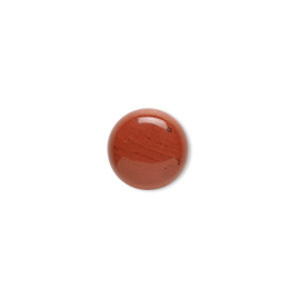 D01/4 Gemstone Nature Cabochon 16mm | Red Jasper (1pc)