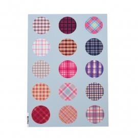 Sillis Scrapbook Stationery   Collage Sheet 20mm L022 07