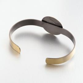 L61 Setting   Bracelet   Bronze CUFF