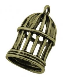 DIY hanger - Birdcage - Bronze 23x15mm