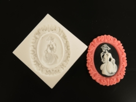 Sillicreations Mould | VICTORIAN SKELETON LADY