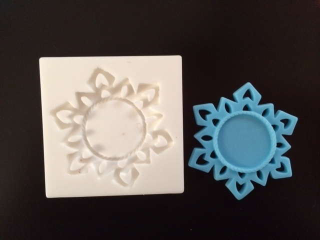 Sillicreations Mould | FROZEN FLAKE FRAME