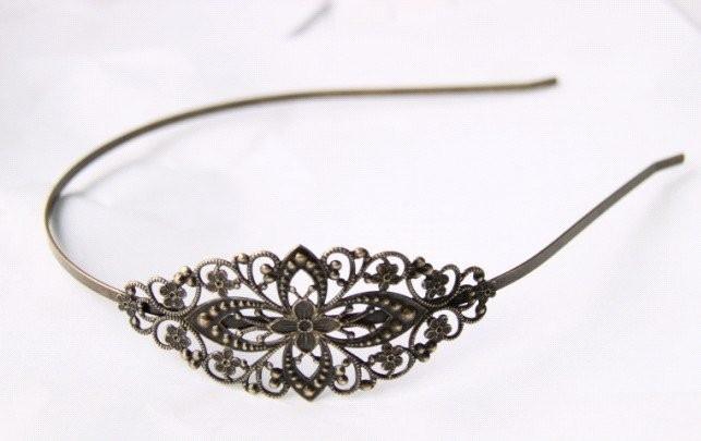 FILIGREE Haarband setting bronze D14