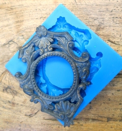 Sillicreations Mould    Precious Frame