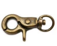 KEY ring clasp bronze 45mm B14