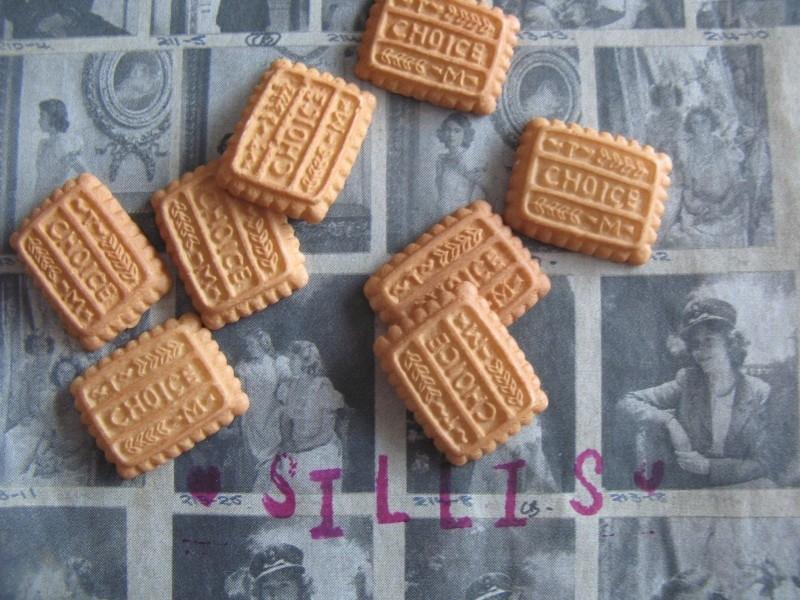 A18 Flatback cabochon - cookie 40 stuks