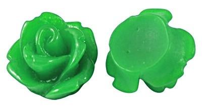 Mini resin cabochon | Adanya 7.5mm | LIME | 25 stuks C35