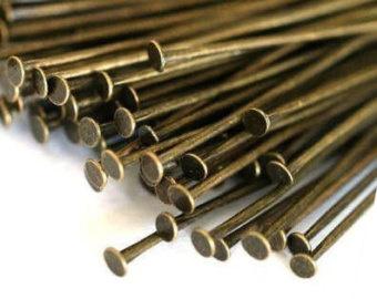 A19 20 gram headpins brons 30mm