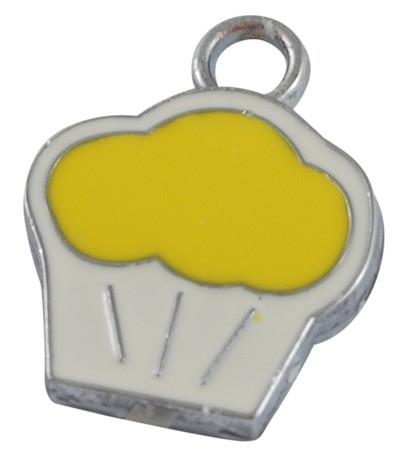 CUPCAKE | emaille hanger  3 stuks B25/2