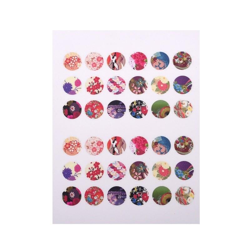 Sillis Scrapbook Stationery | Collage Sheet 12mm L030|01