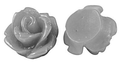 D54/5 Mini resin cabochon   Adanya 7.5mm   GREY   20 pcs