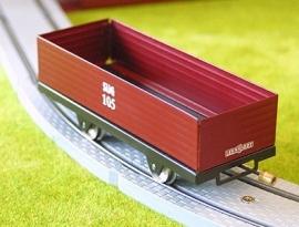 Säksiche Überlandbahn open goederenwagen 105, 3000-20-208