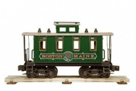 506 BM fourgon bagages/caboose Boston & Maine