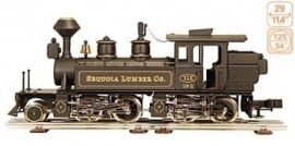 "149 stoomlocomotief ""Sequoia Lumber Co, Mallet"