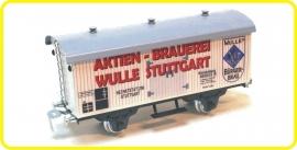 9557 wagon couvert de brasserie aktien Brauerei Stuttgart DB