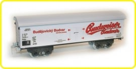9533 beer van  4 axles Budweiser