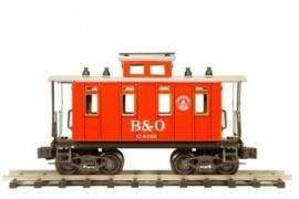 506  BAO fourgon bagages/caboose Baltimore & Ohio