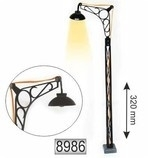 8986 lantarenpaal, lamppost, laterne, Strassenlicht MERKUR
