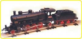 8156 locomotive à vapeur CSD 354.7117 avec tender