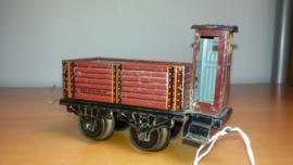 KBN wagon met remmershuis