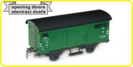 9400 gedeckter Güterwagen CSD reihe Zsr