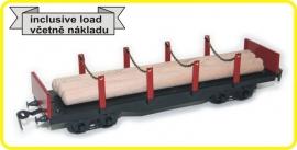 9431 rongenwagen 4 assig CSD serie Sgs met lading